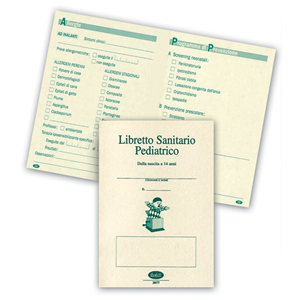 Prodotto 307700000 medici libretto sanitario - Libretto sanitario per lavoro cucina ...